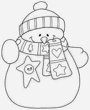 drawing christmas fabric wrist snow