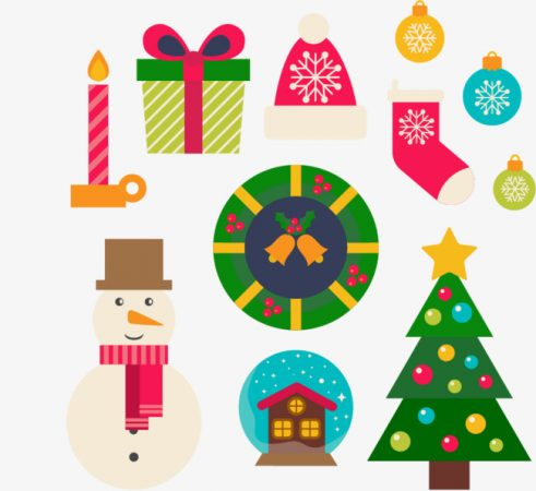 christmas drawings with christmas color