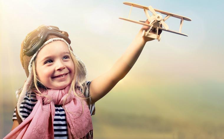 happy child allow them to dream