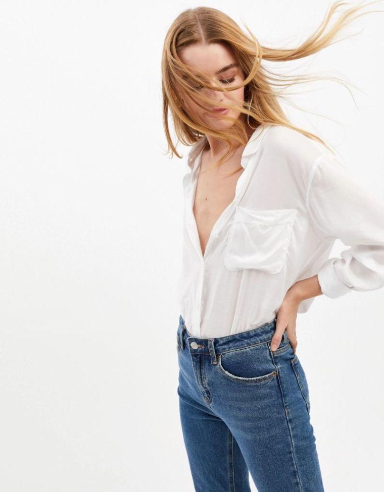 jeans femme tendance printemps ete 2019 idees tenues