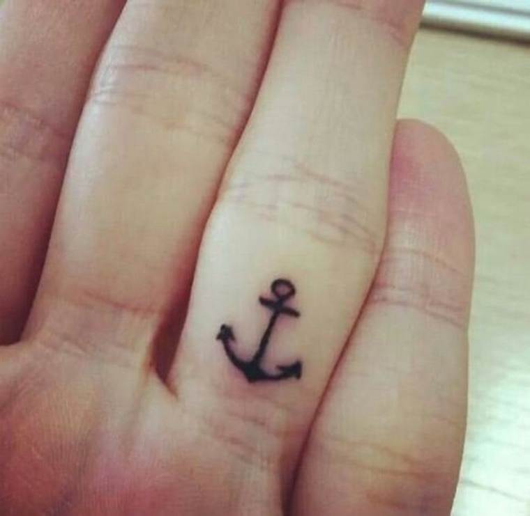 first tattoo woman anchor