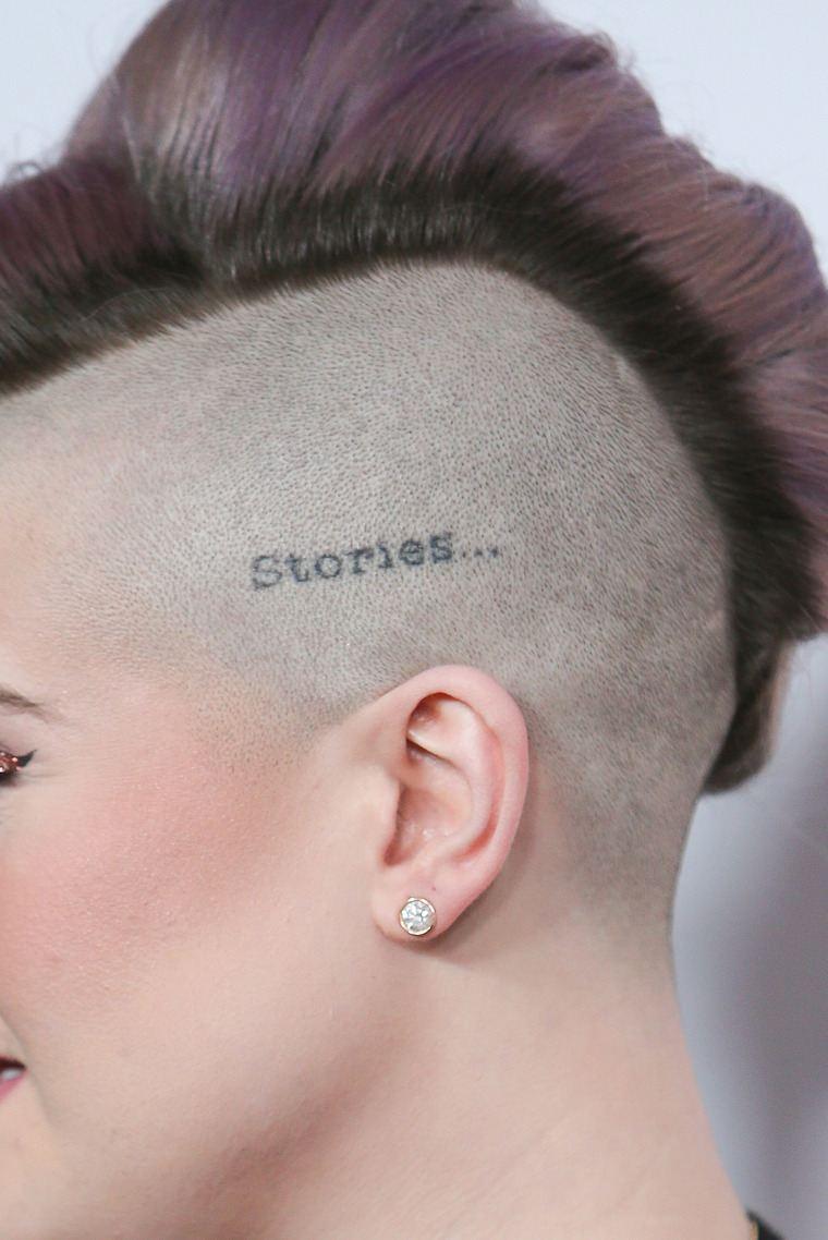 first tattoo woman head