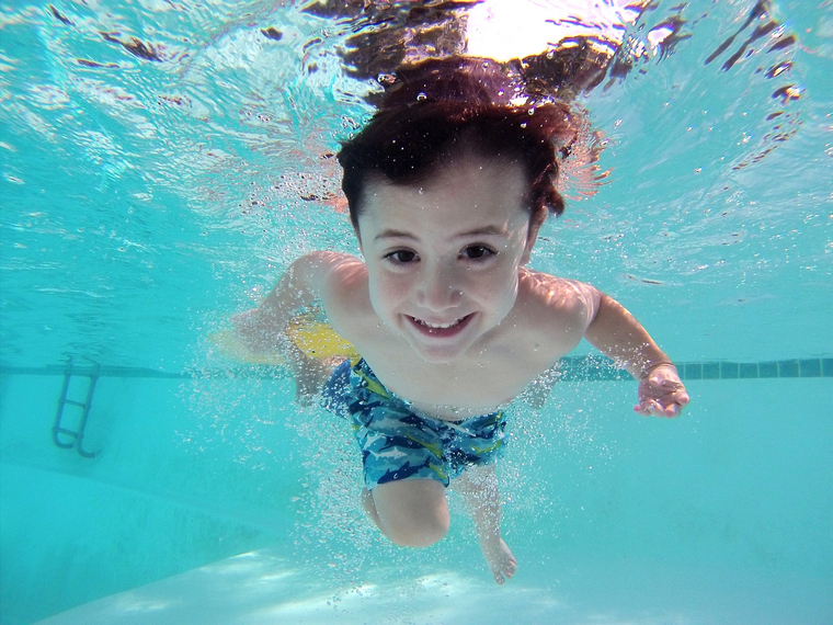 learn to swim psychological barrier