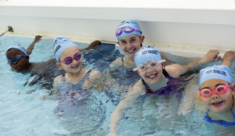 learn to swim well for kids