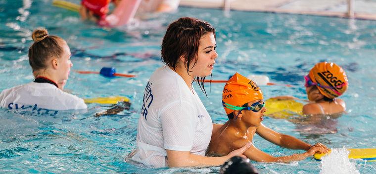 learn to swim kids course