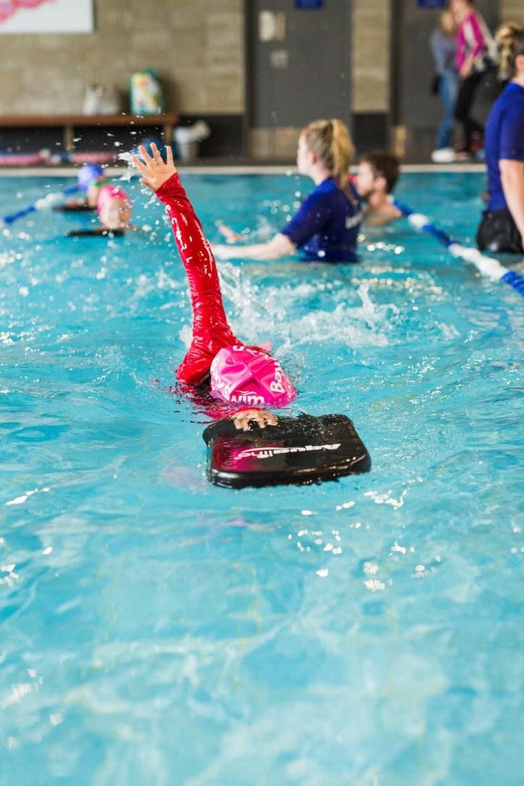 learn to swim crowl board