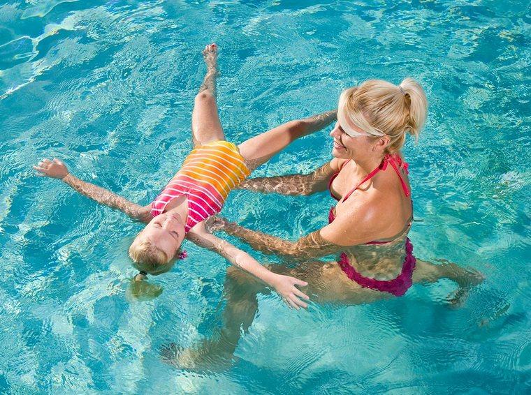 learn to swim float