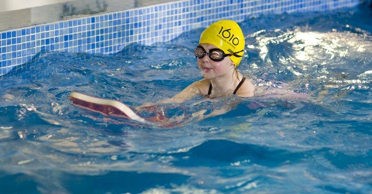 learn to swim board