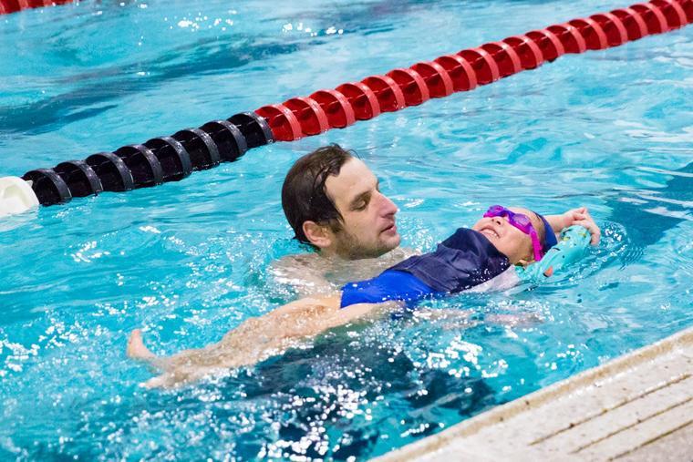 learn to swim breathing float technique