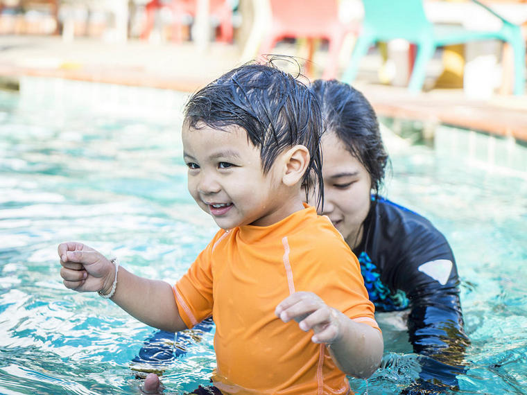 learn to swim safety