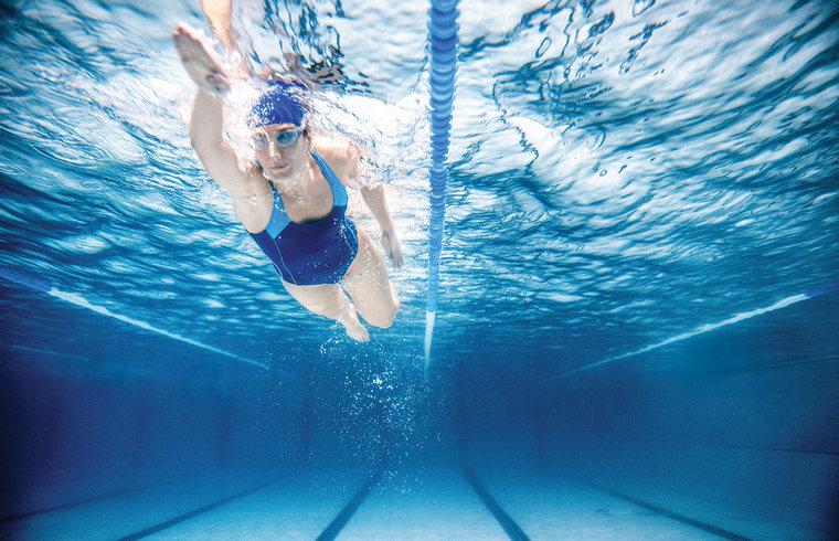 learn to swim style crawl