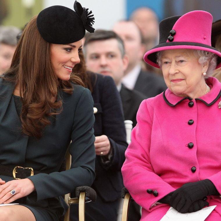 Catherine Duchess Cambridge Elizabeth II style