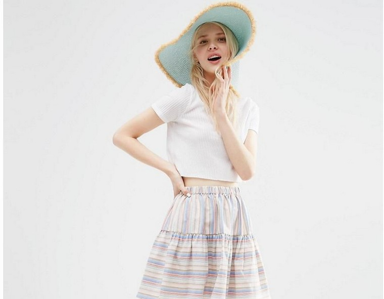 hat asos look summer trend fashion outfit