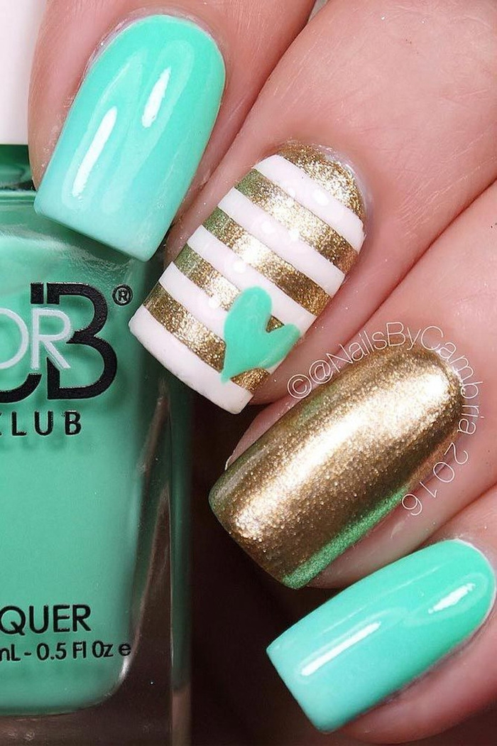Trendy nail colors and holiday ideas