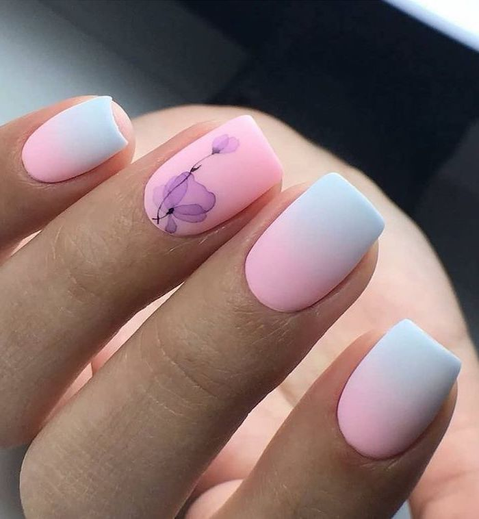 Nail decoration trend for the beach
