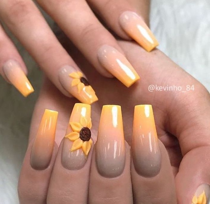 Deco beach nails