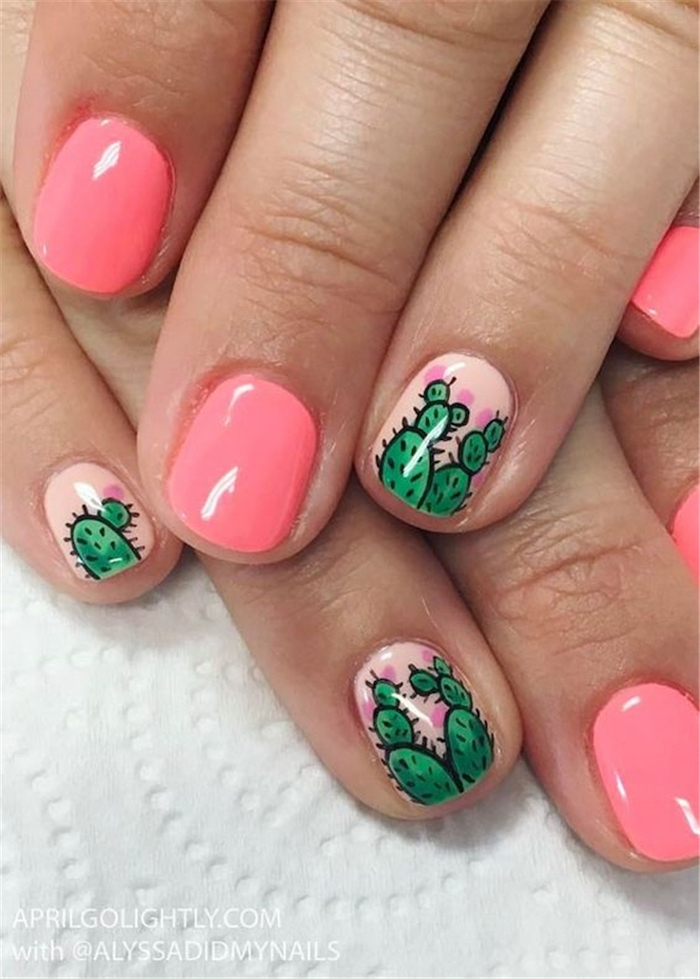 Deco nail summer for the holidays trend
