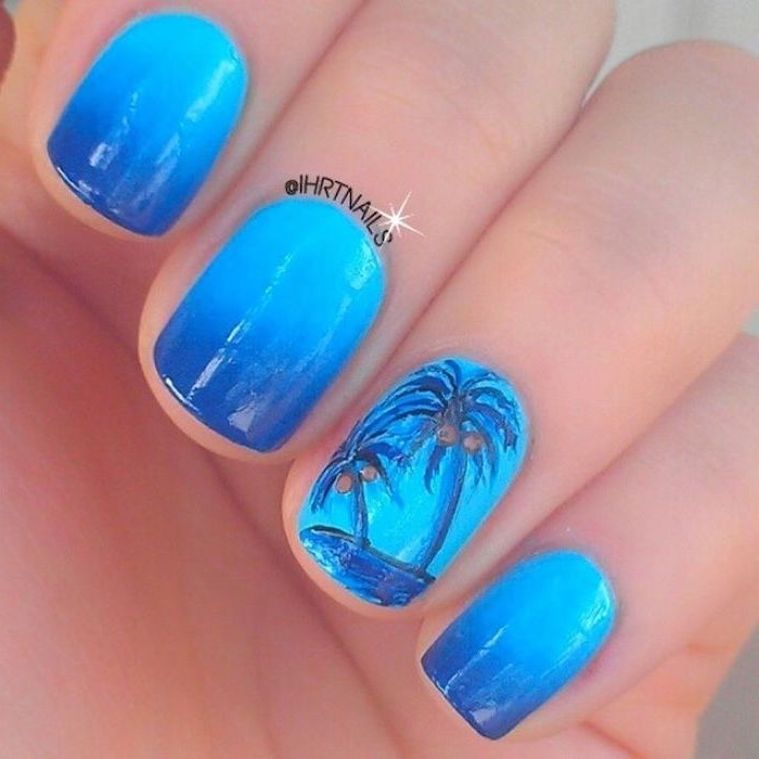 Nail decoration for summer