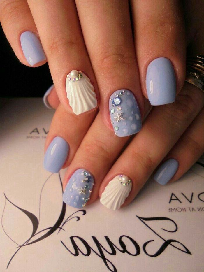 Nail design idea for holidays