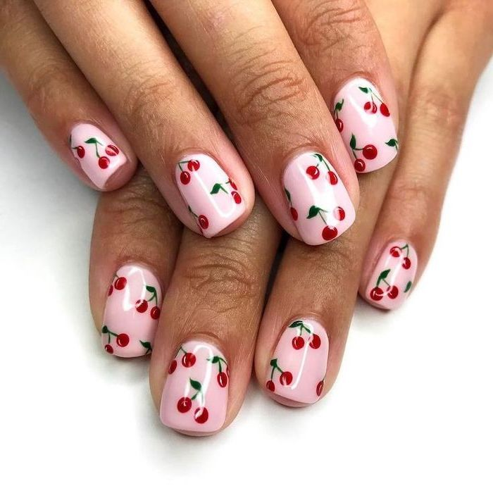 Nail art idea for holidays