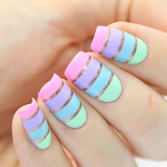 Nail ideas with beach decor