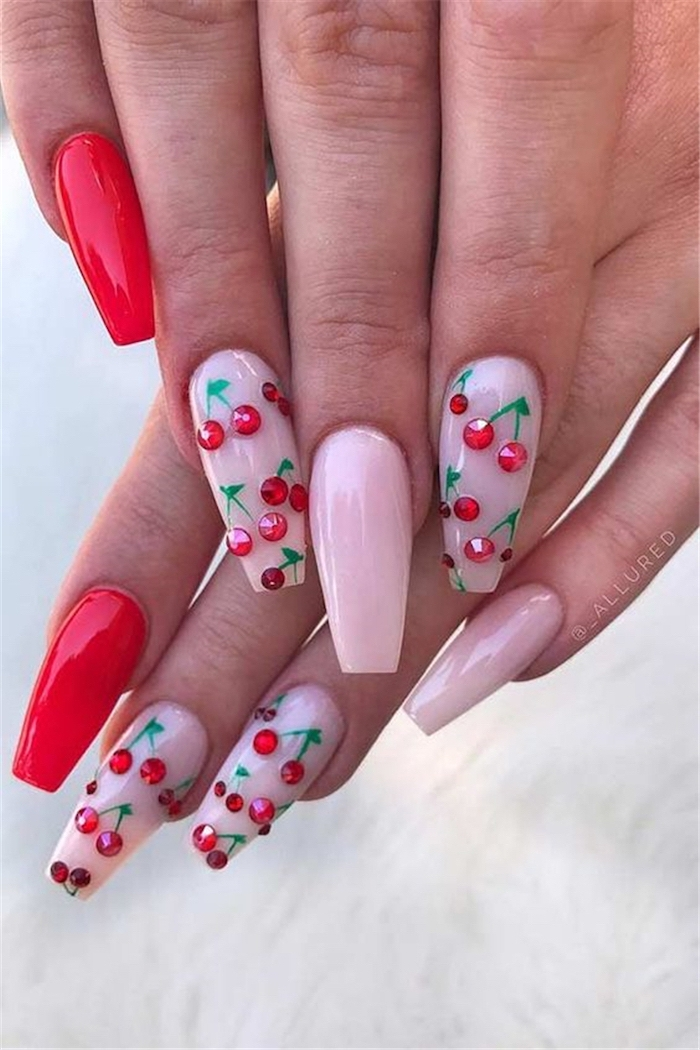 Nail pattern decoration ideas