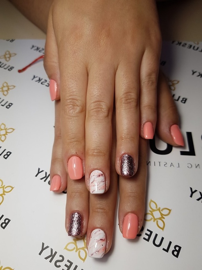 Summer trendy nails