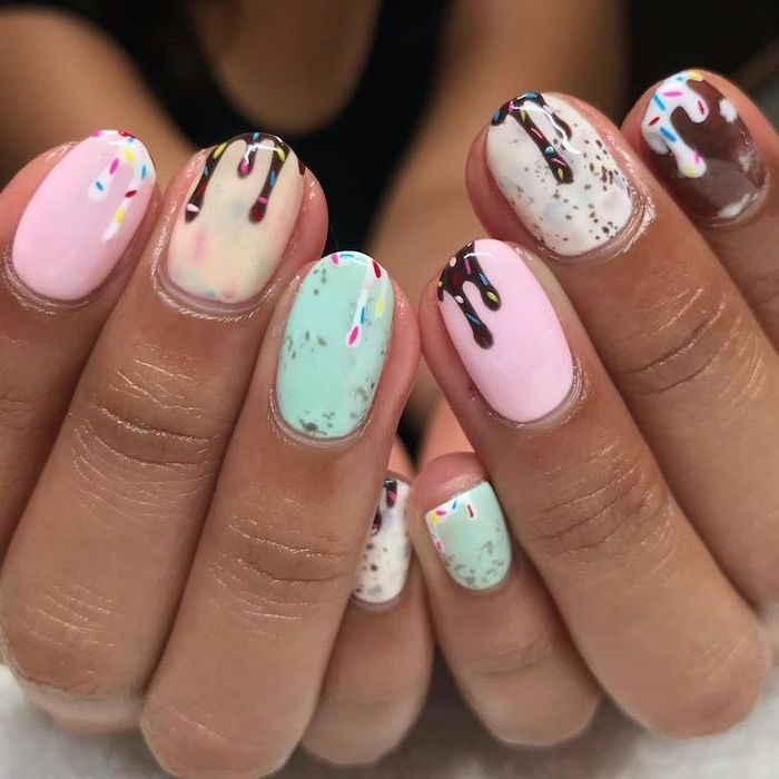Summer design nails