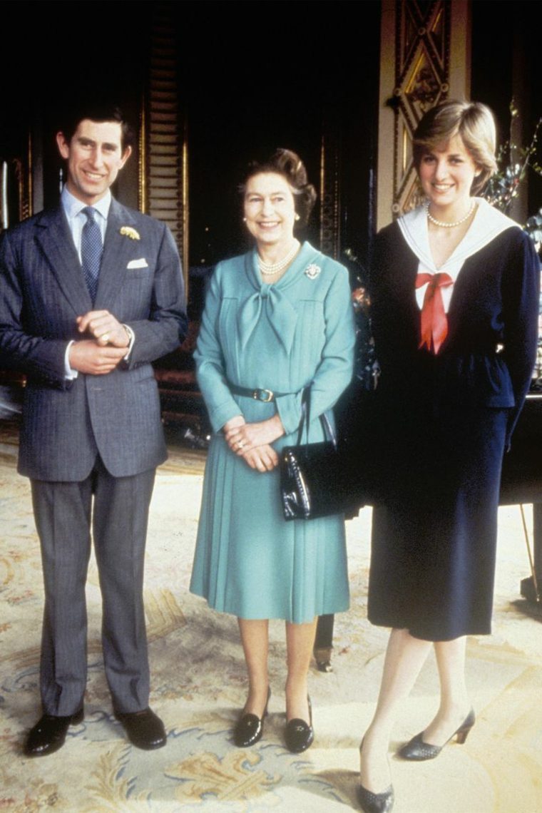 Queen Elizabeth II Prince Charles Diana