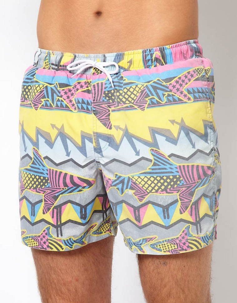 swim shorts man asos patterns