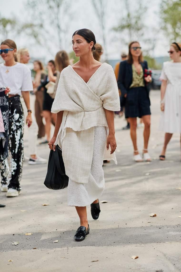 polka dot dress woman look trend fashion summer 2019