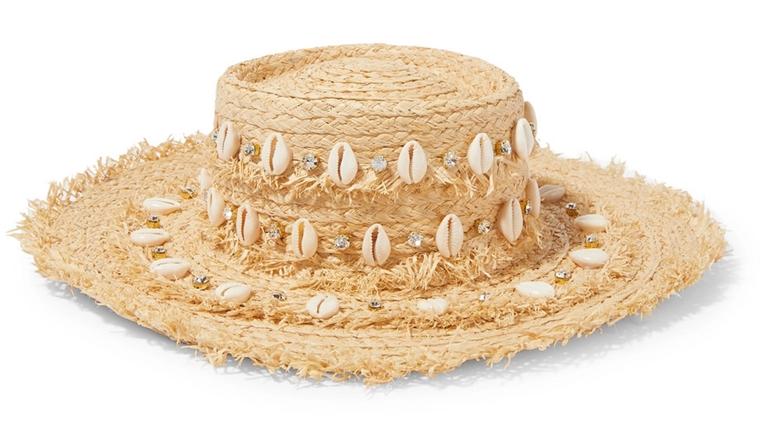 beachwear - accessories - sun hat - Aquqzzura