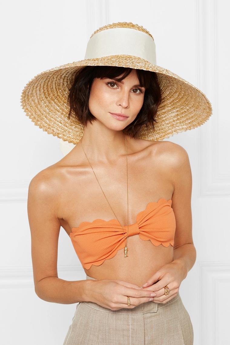 beachwear - accessories - sun hat Eugenia Kim