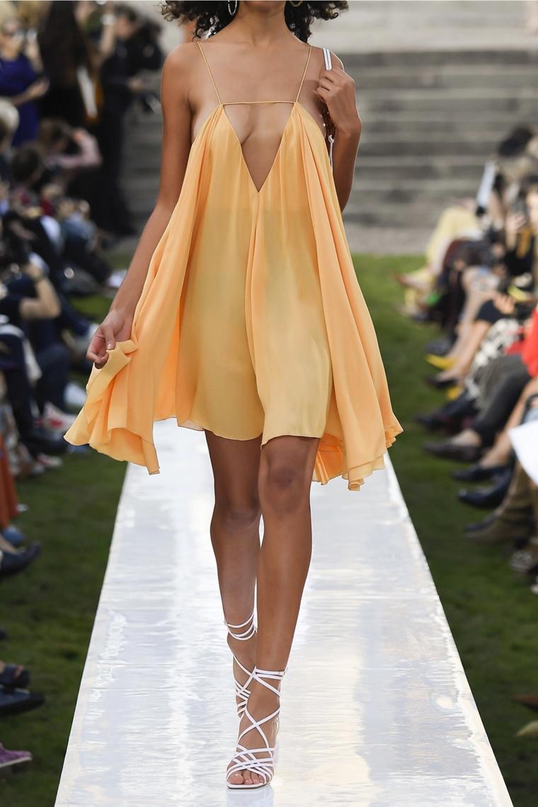 beachwear - accessories - melon silk dress - Jacquemus