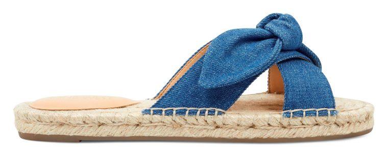 beach outfit - denim sandals