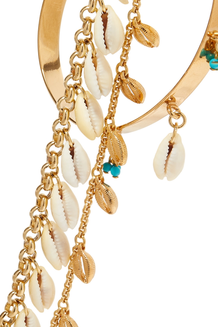 beachwear - accessories - three gold bracelets - Isabel Marant