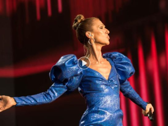 Céline Dion, 51, looks unrecognisable in short black wig