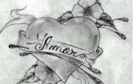 images love chidas heart flowers