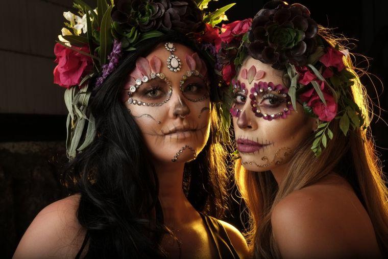 original idea of Mexican head makeup