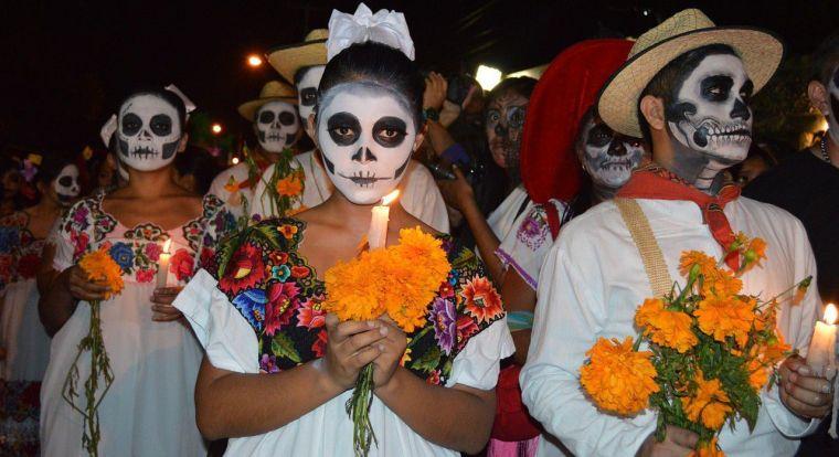 mexican head makeup idea