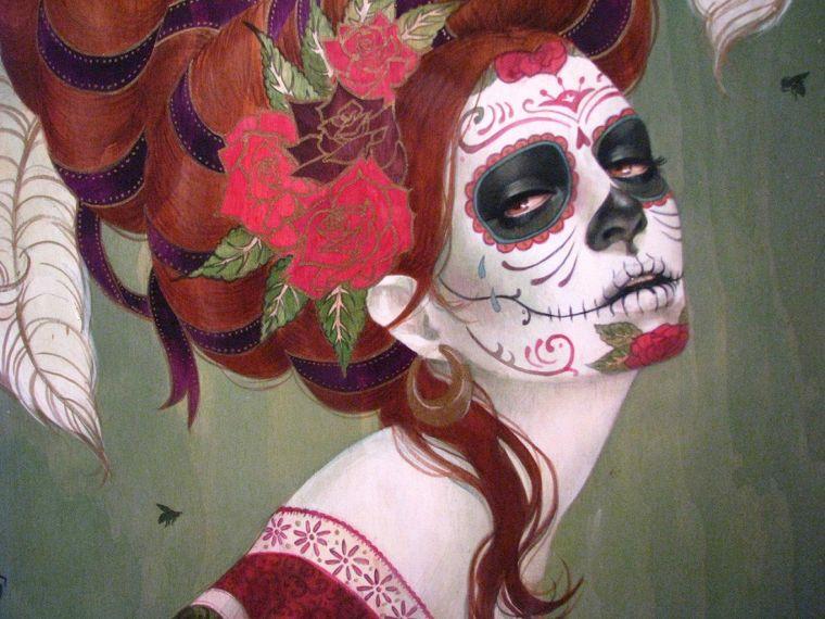 mexican sugar skull makeup