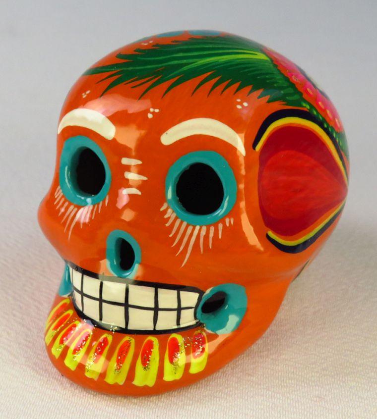 Mexican skull and crossbones