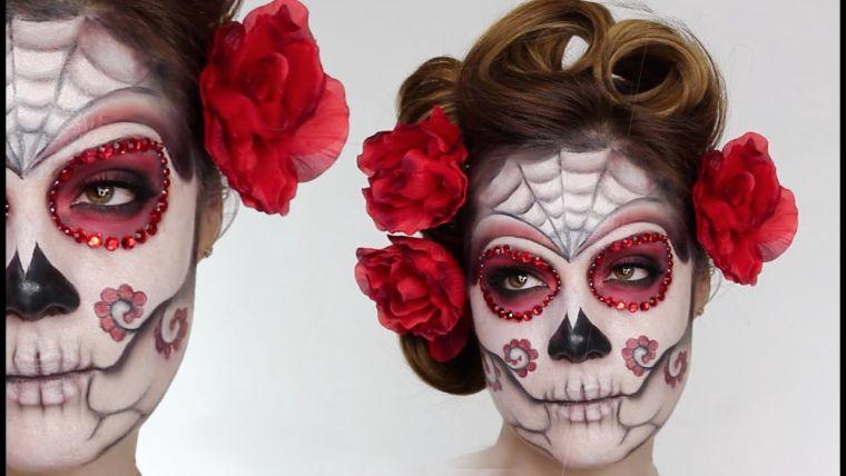 idea of mexican skull makeup