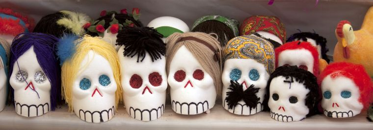 little mexican sugar skulls