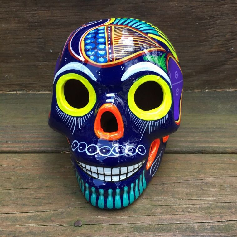 Mexican head as a decoration