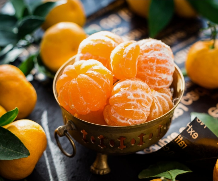 good foods for the heart and clementines