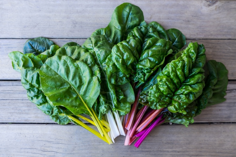 good food for the heart: green leaves