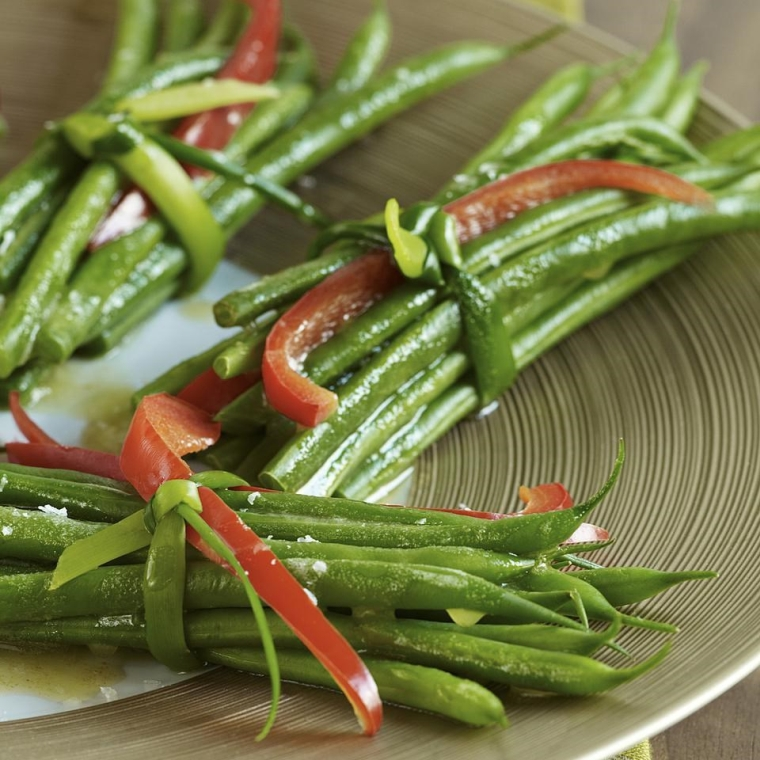 good food for the heart; green beans