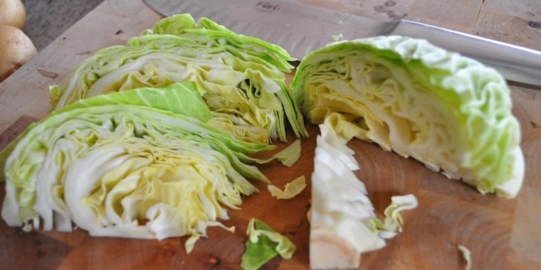 cabbage helps the ulcer