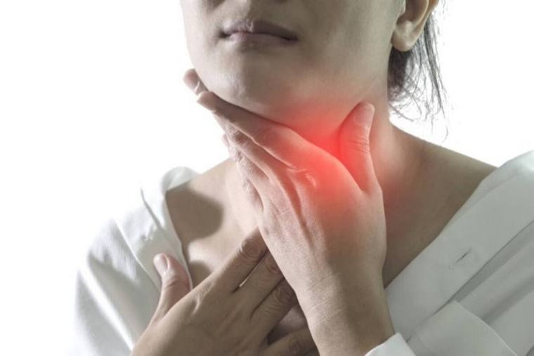 nine reasons to have sore throat